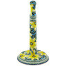 13-inch Stoneware Paper Towel Stand - Polmedia Polish Pottery H8385F