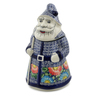 13-inch Stoneware Santa Shaped Jar - Polmedia Polish Pottery H6635K