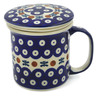 13 oz Stoneware Brewing Mug - Polmedia Polish Pottery H9354J