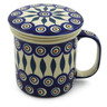 13 oz Stoneware Brewing Mug - Polmedia Polish Pottery H9418J