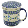 13 oz Stoneware Brewing Mug - Polmedia Polish Pottery H9546J
