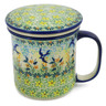 13 oz Stoneware Brewing Mug - Polmedia Polish Pottery H9919J