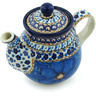 13 oz Stoneware Tea or Coffee Pot - Polmedia Polish Pottery H5190H