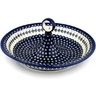 14-inch Stoneware Bowl with Handles - Polmedia Polish Pottery H9492B