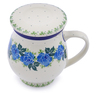 14 oz Stoneware Brewing Mug - Polmedia Polish Pottery H1196J