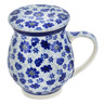 14 oz Stoneware Brewing Mug - Polmedia Polish Pottery H1786L