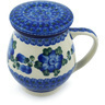 14 oz Stoneware Brewing Mug - Polmedia Polish Pottery H9350H