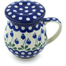 14 oz Stoneware Brewing Mug - Polmedia Polish Pottery H9351H