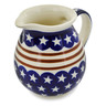 15 oz Stoneware Pitcher - Polmedia Polish Pottery H5219C