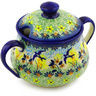 15 oz Stoneware Sugar Bowl - Polmedia Polish Pottery H4833F