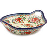 16-inch Stoneware Bowl with Handles - Polmedia Polish Pottery H4299I