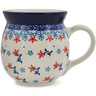 16 oz Stoneware Bubble Mug - Polmedia Polish Pottery H0173L