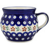16 oz Stoneware Bubble Mug - Polmedia Polish Pottery H0899A