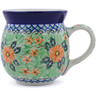 16 oz Stoneware Bubble Mug - Polmedia Polish Pottery H0945B