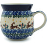 16 oz Stoneware Bubble Mug - Polmedia Polish Pottery H0945I