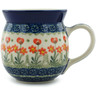 16 oz Stoneware Bubble Mug - Polmedia Polish Pottery H1190B