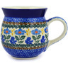 16 oz Stoneware Bubble Mug - Polmedia Polish Pottery H2062E