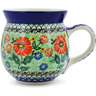16 oz Stoneware Bubble Mug - Polmedia Polish Pottery H3676J