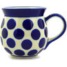 16 oz Stoneware Bubble Mug - Polmedia Polish Pottery H3833D