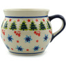 16 oz Stoneware Bubble Mug - Polmedia Polish Pottery H4812I