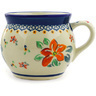 16 oz Stoneware Bubble Mug - Polmedia Polish Pottery H5128E