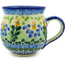 16 oz Stoneware Bubble Mug - Polmedia Polish Pottery H5202D