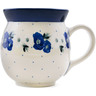 16 oz Stoneware Bubble Mug - Polmedia Polish Pottery H5415L