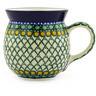 16 oz Stoneware Bubble Mug - Polmedia Polish Pottery H5635E