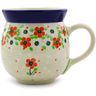 16 oz Stoneware Bubble Mug - Polmedia Polish Pottery H6704I