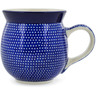 16 oz Stoneware Bubble Mug - Polmedia Polish Pottery H6713J