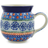 16 oz Stoneware Bubble Mug - Polmedia Polish Pottery H6826J