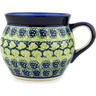 16 oz Stoneware Bubble Mug - Polmedia Polish Pottery H6883C