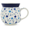 16 oz Stoneware Bubble Mug - Polmedia Polish Pottery H7490K
