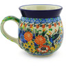 16 oz Stoneware Bubble Mug - Polmedia Polish Pottery H7544E