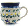 16 oz Stoneware Bubble Mug - Polmedia Polish Pottery H8913H