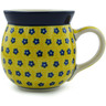 16 oz Stoneware Bubble Mug - Polmedia Polish Pottery H9709A
