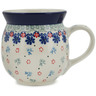 16 oz Stoneware Bubble Mug - Polmedia Polish Pottery H9943K