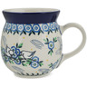 16 oz Stoneware Bubble Mug - Polmedia Polish Pottery H9964K