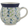 16 oz Stoneware Bubble Mug - Polmedia Polish Pottery H9972K