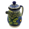 16 oz Stoneware Pitcher with Lid - Polmedia Polish Pottery H6123I