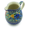 17 oz Stoneware Pitcher - Polmedia Polish Pottery H7889I