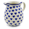 17 oz Stoneware Pitcher - Polmedia Polish Pottery H9833E