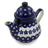 17 oz Stoneware Tea or Coffee Pot - Polmedia Polish Pottery H0466A