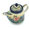 17 oz Stoneware Tea or Coffee Pot - Polmedia Polish Pottery H8715H