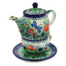 17 oz Stoneware Tea Set for One - Polmedia Polish Pottery H5578L