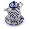 17 oz Stoneware Tea Set for One - Polmedia Polish Pottery H8342A