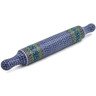 18-inch Stoneware Rolling Pin - Polmedia Polish Pottery H5966A