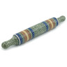 18-inch Stoneware Rolling Pin - Polmedia Polish Pottery H5972A