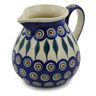 19 oz Stoneware Pitcher - Polmedia Polish Pottery H2660K
