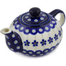 19 oz Stoneware Tea or Coffee Pot - Polmedia Polish Pottery H8908B